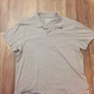 Old Navy Gray S/S Polo with Pocket